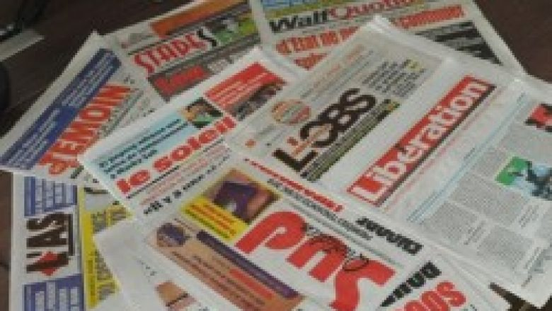 Les violence dans les villes du Sénégal à la une des journaux.